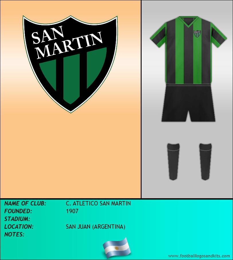 Logo of C. ATLETICO SAN MARTIN