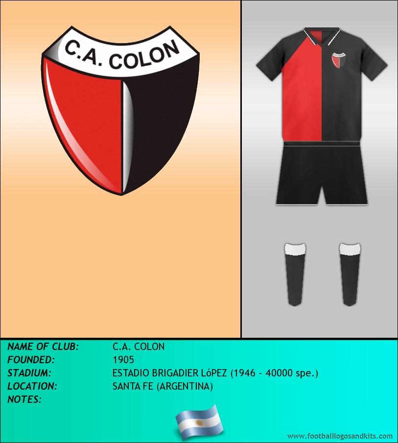 Logo of C.A. COLON