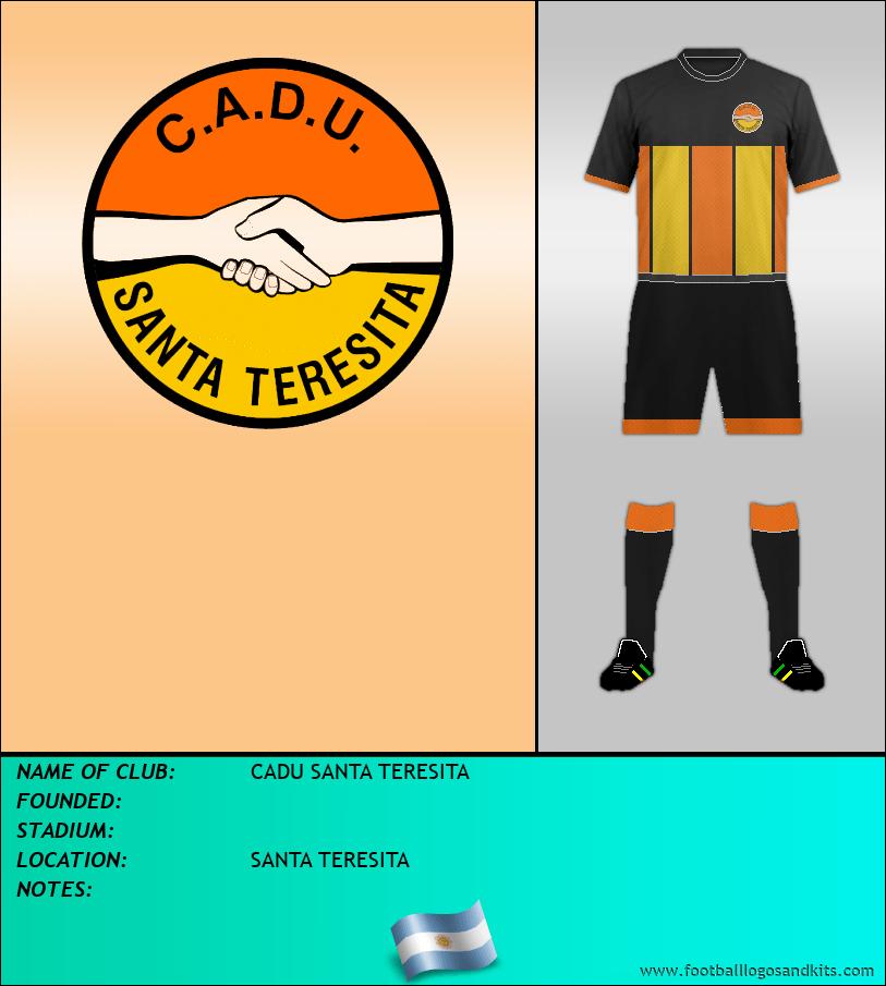 Logo of CADU SANTA TERESITA