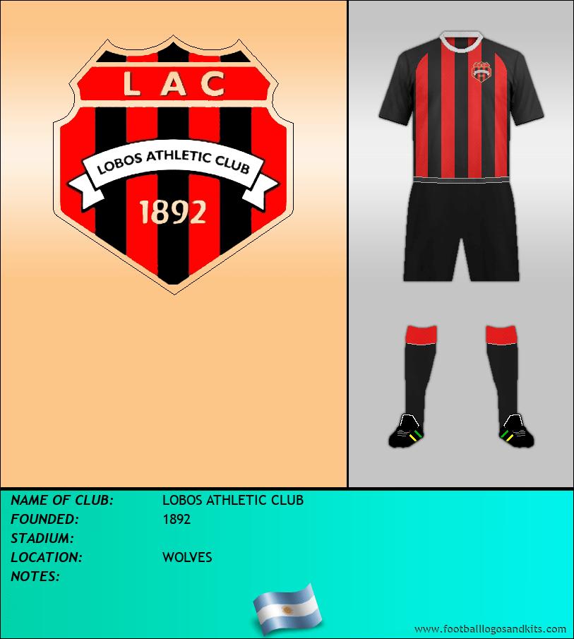 Logo of LOBOS ATHLETIC CLUB