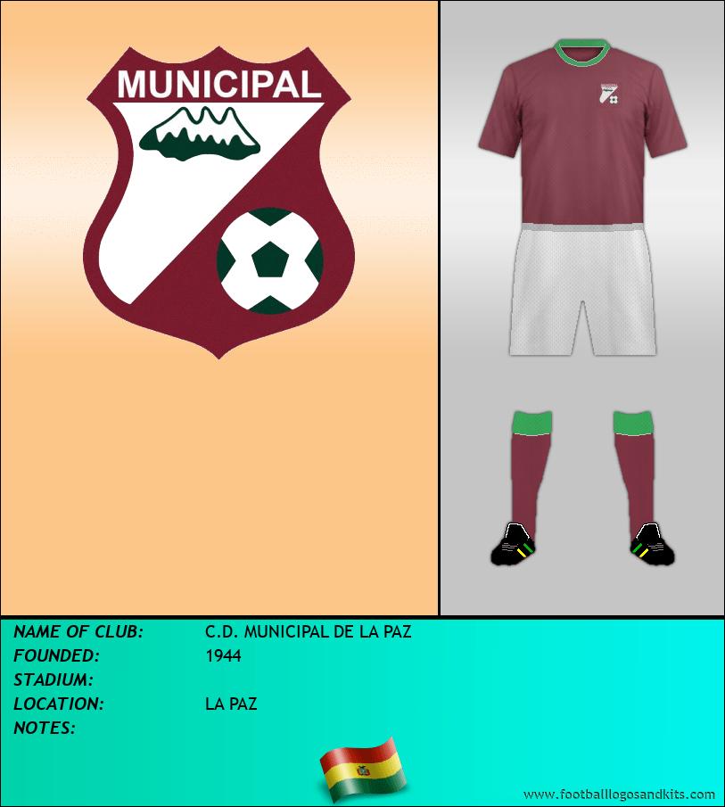 Logo of C.D. MUNICIPAL DE LA PAZ