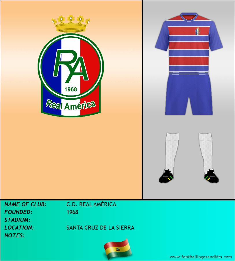 Logo of C.D. REAL AMÉRICA