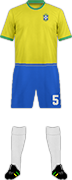 Kit BRAZIL NATIONAL FOOTBALL TEAM