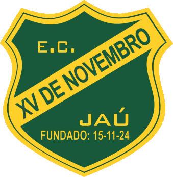 Logo of E.C. XV DE NOVEMBRO JAÚ (BRAZIL)