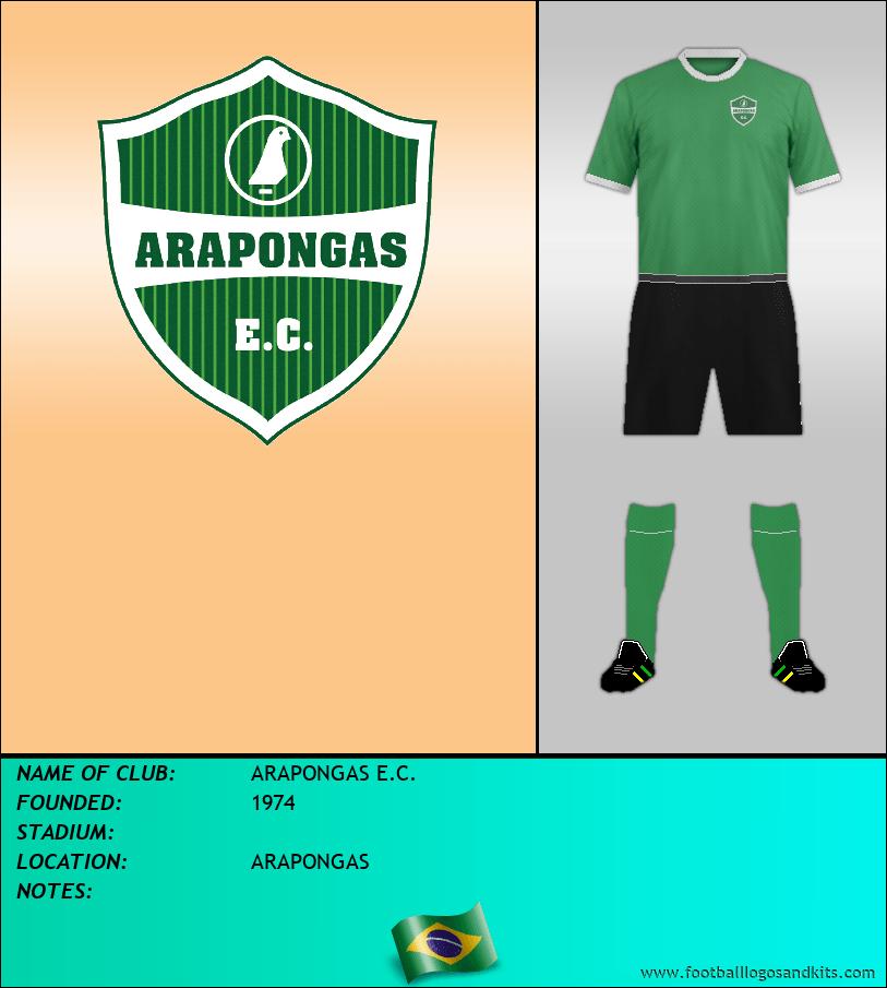 Logo of ARAPONGAS E.C.
