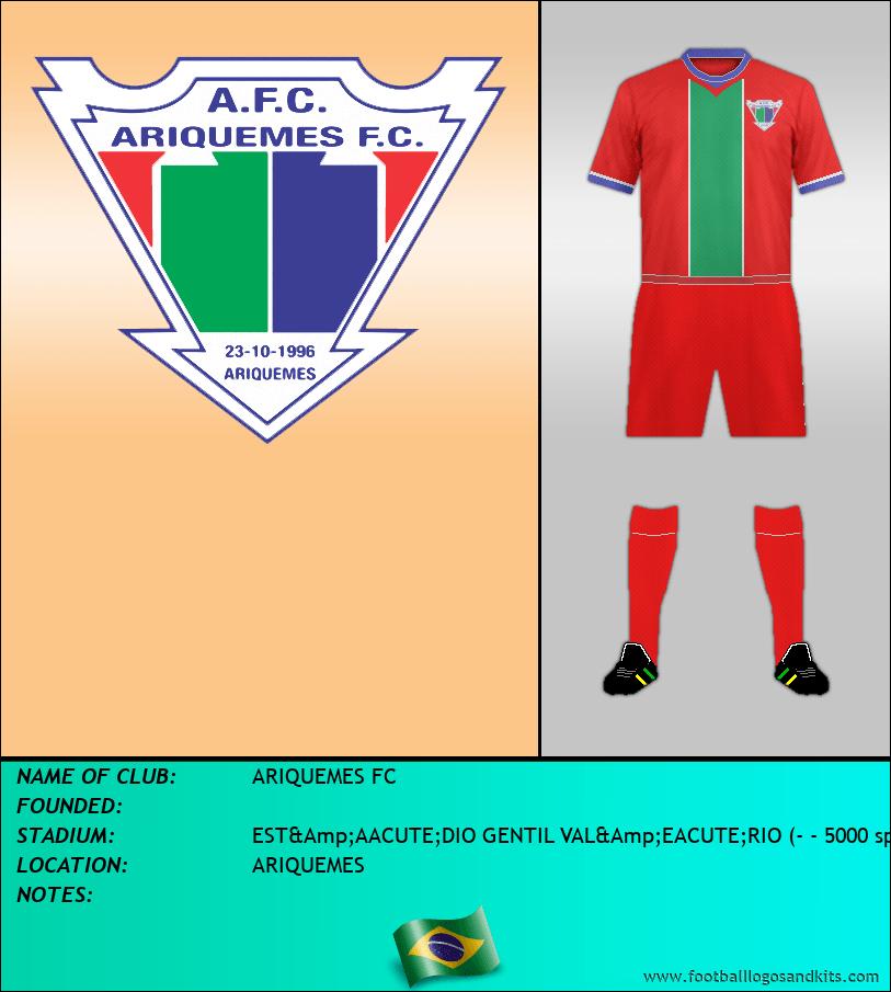 Logo of ARIQUEMES FC