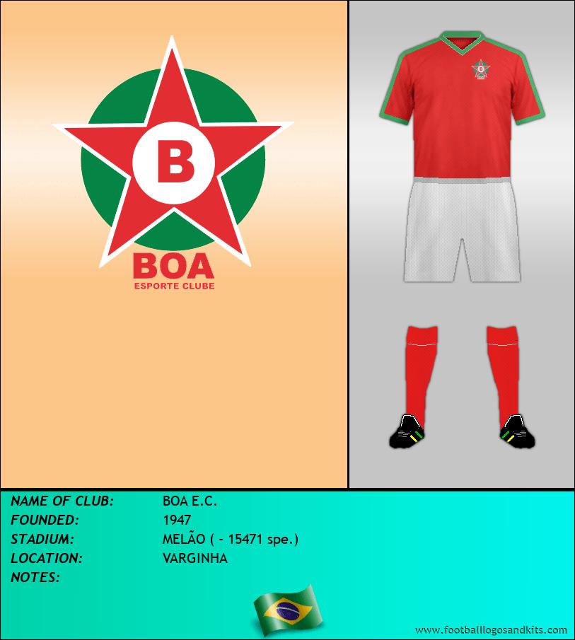 Logo of BOA E.C.