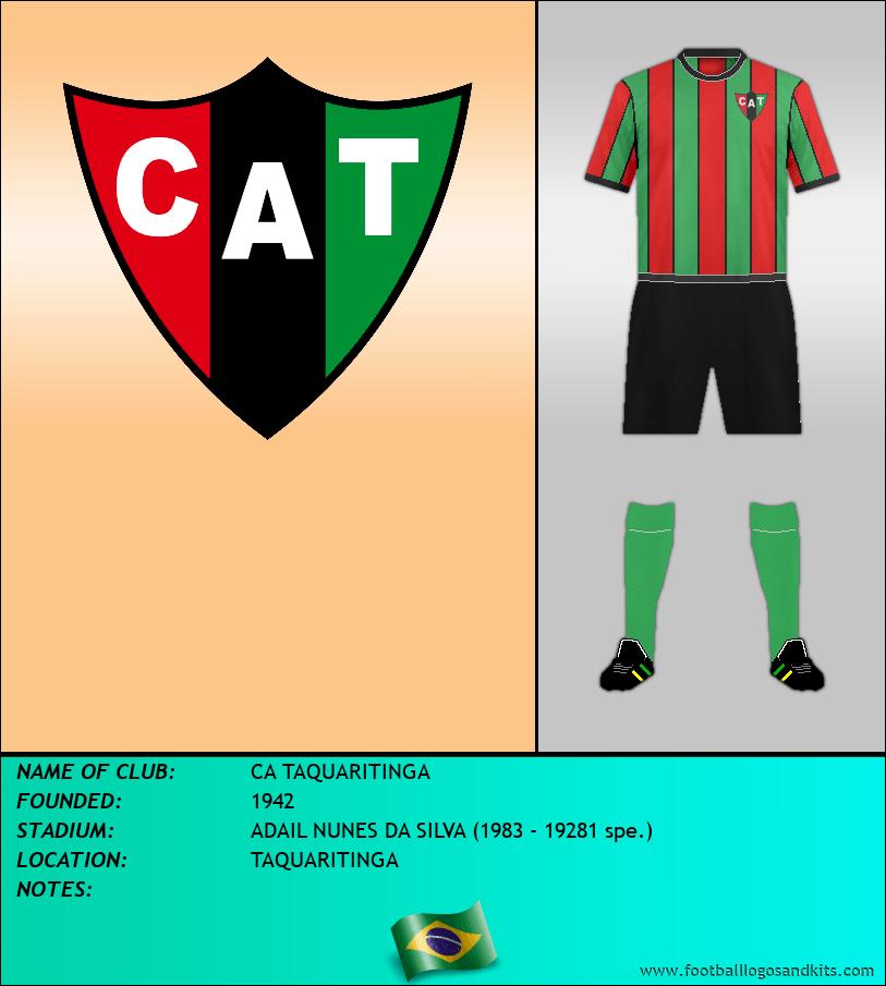 Logo of CA TAQUARITINGA
