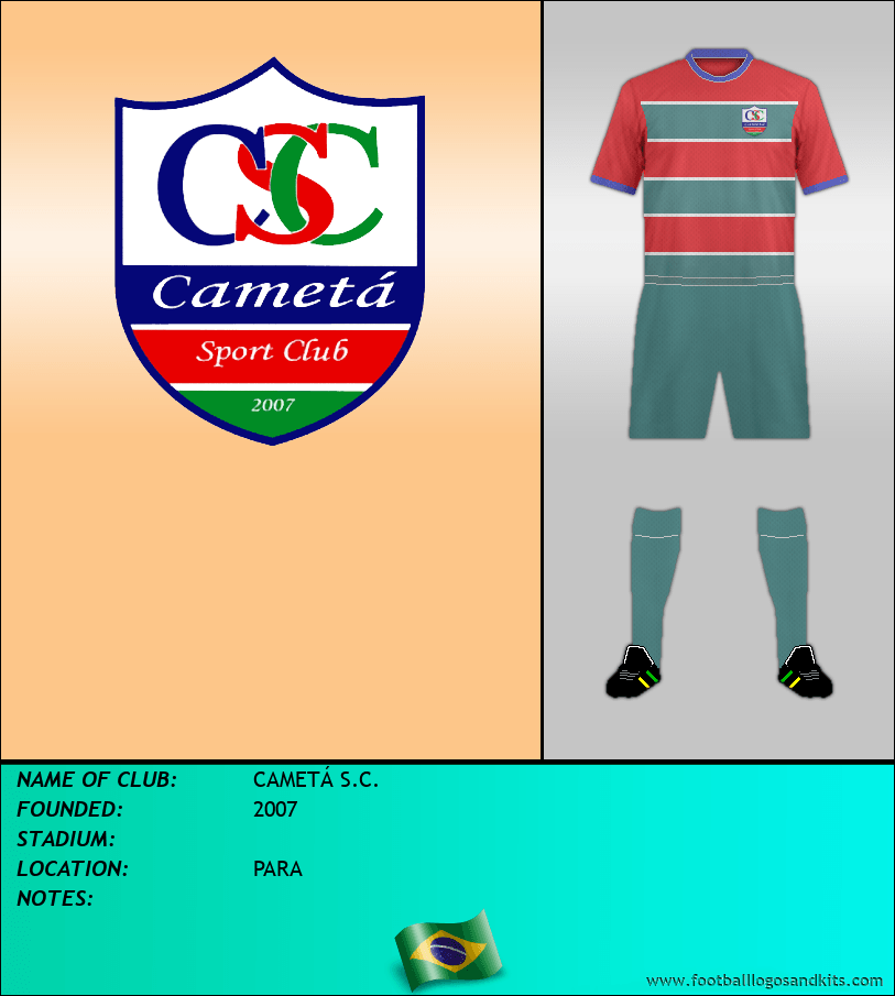 Logo of CAMETÁ S.C.