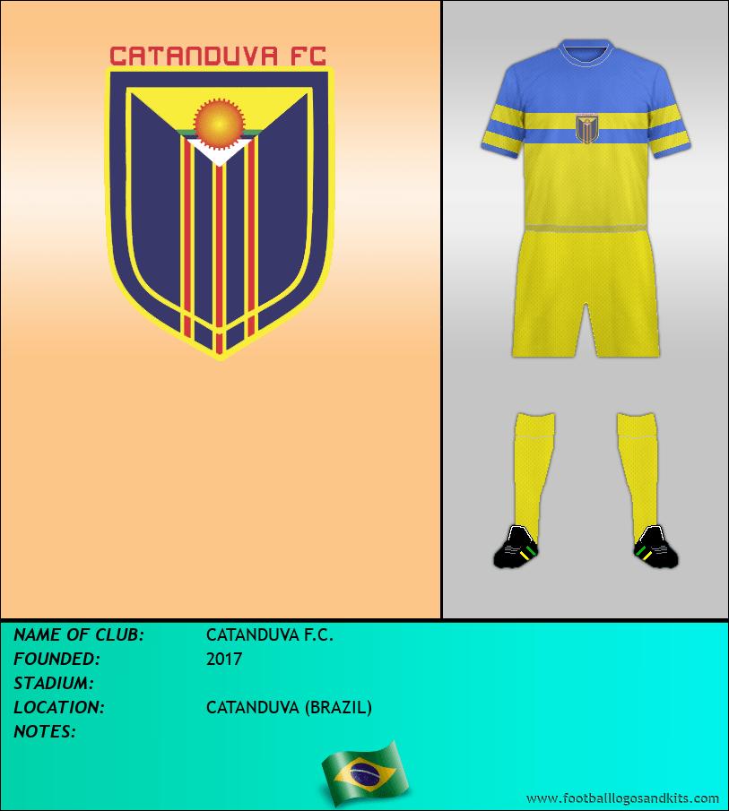 Logo of CATANDUVA F.C.