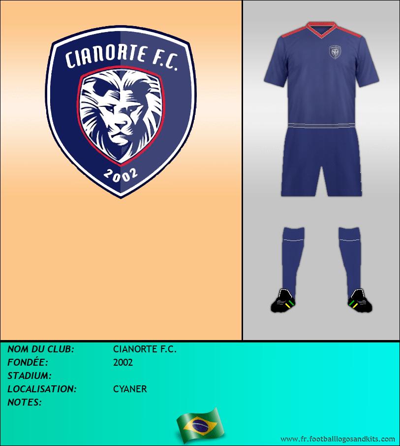 Logo de CIANORTE F.C.