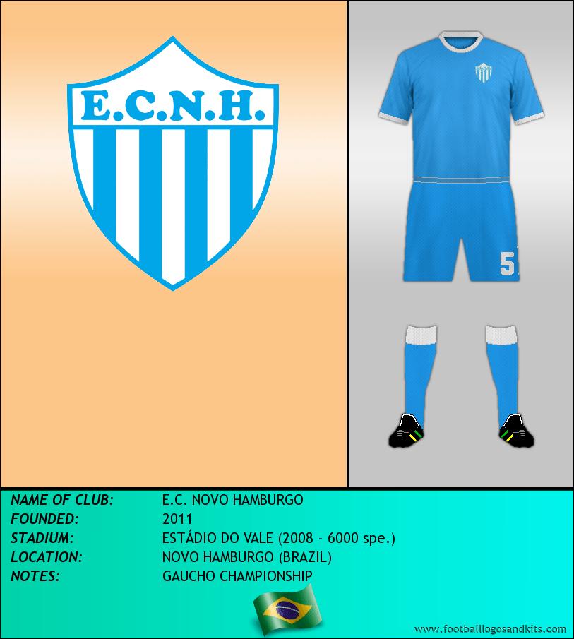 Logo of E.C. NOVO HAMBURGO
