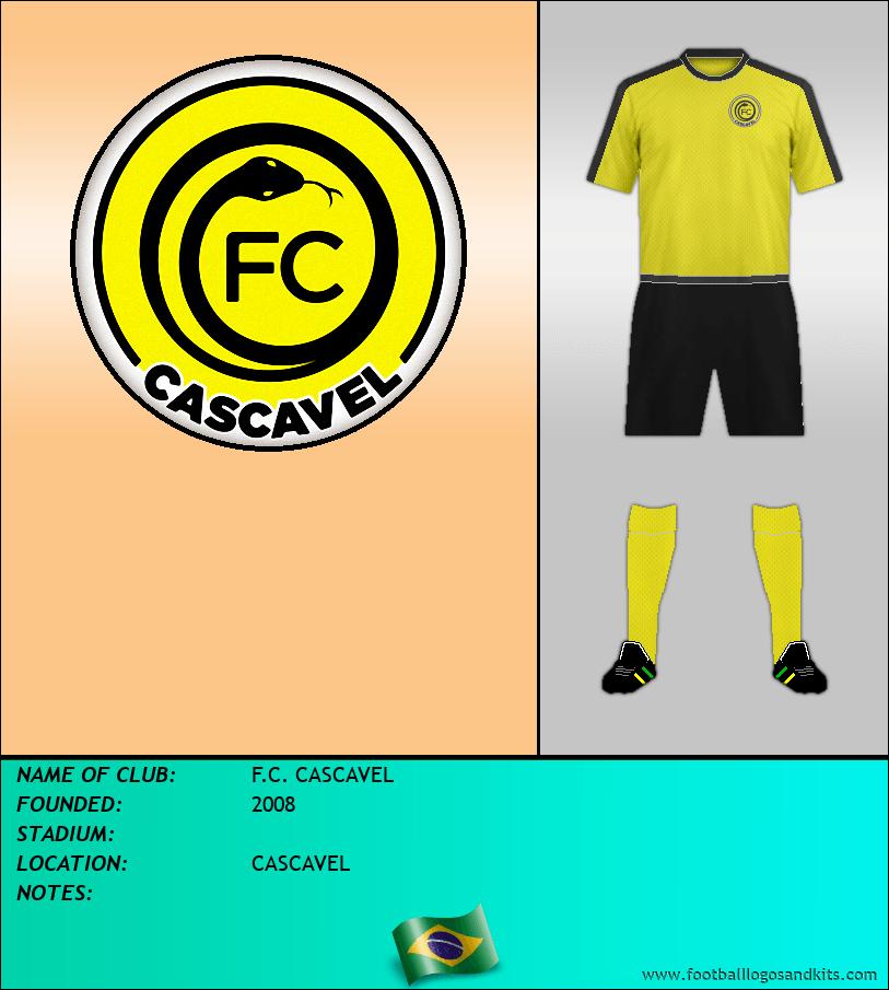 Logo of F.C. CASCAVEL