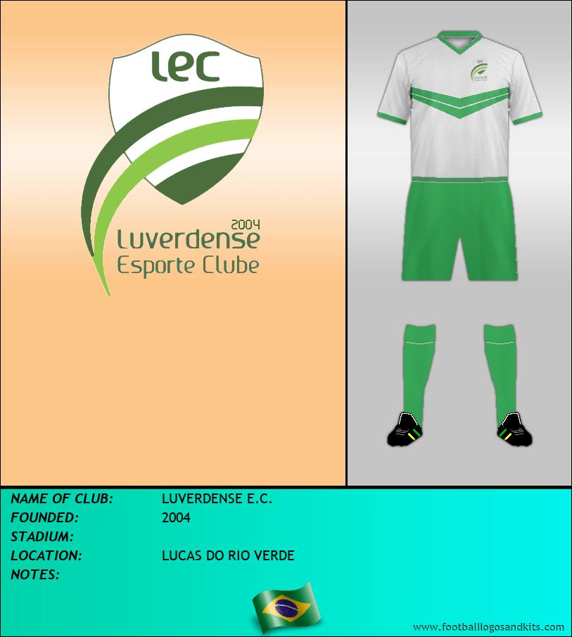 Logo of LUVERDENSE E.C.