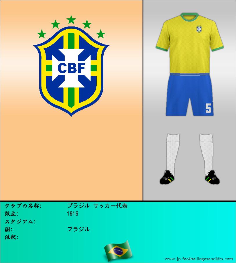 のロゴブラジル サッカー代表