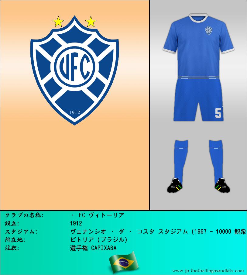 のロゴ・ FC ヴィトーリア