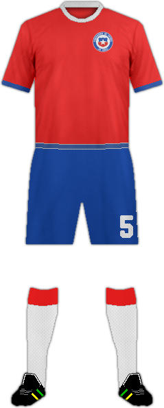 Kit CHILE NATIONAL FOOTBALL TEAM
