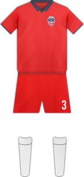 Kit FORTALEZA C.E.I.F. FC
