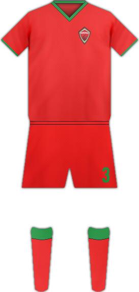 Kit PATRIOTAS FC