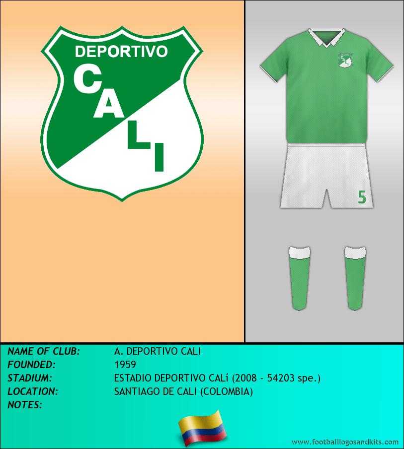 Logo of A. DEPORTIVO CALI