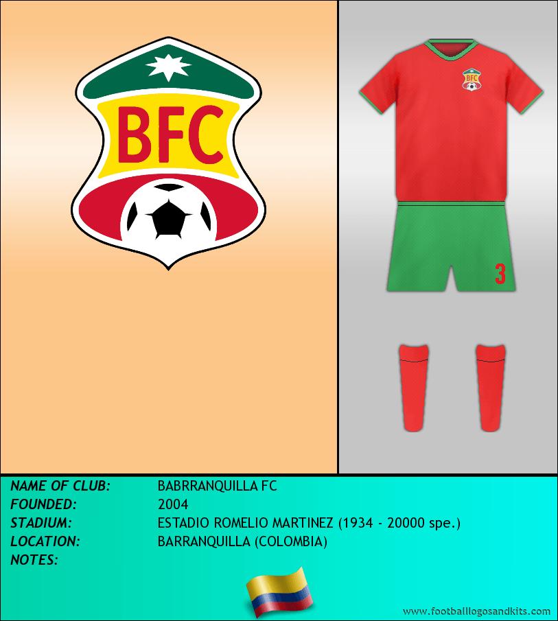 Logo of BABRRANQUILLA FC
