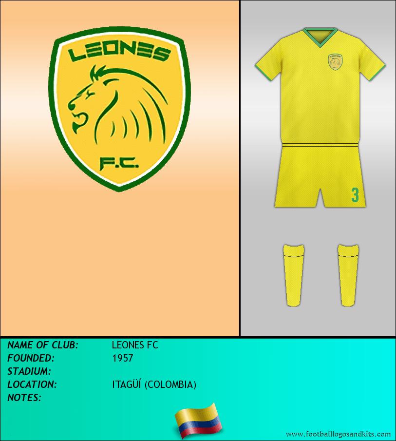 Logo of LEONES FC