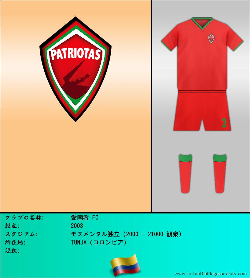 のロゴ愛国者 FC