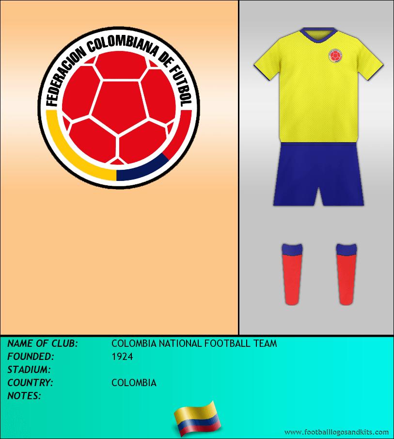 Logo of SELECCIÓN COLOMBIANA