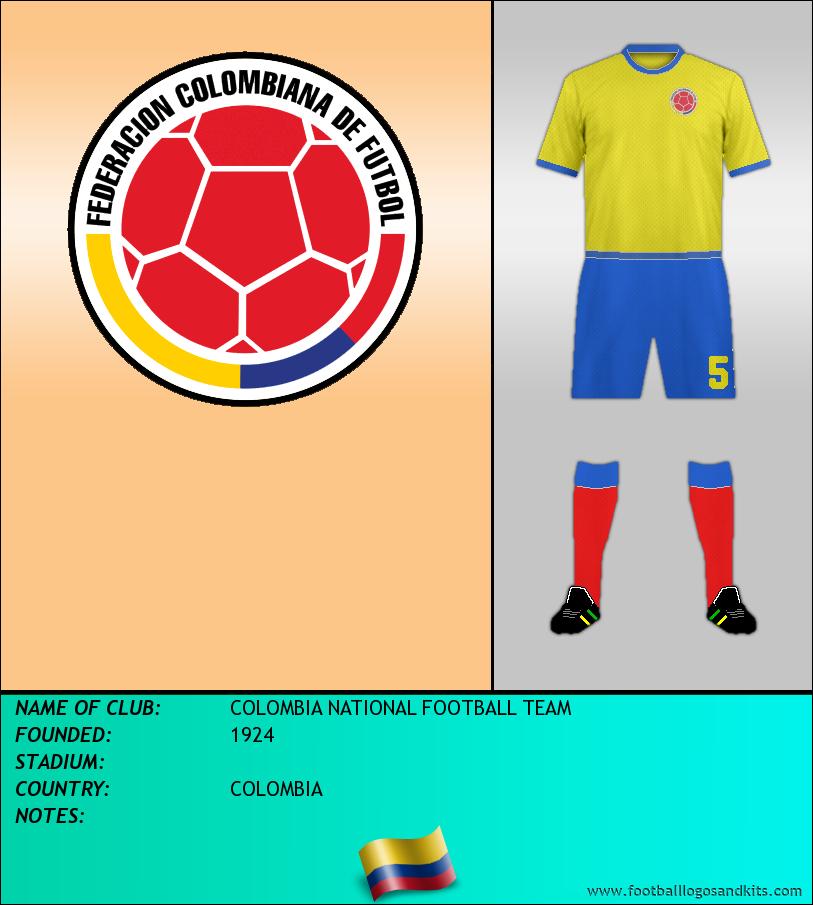 Logo of SELECCIÓN DE COLOMBIA