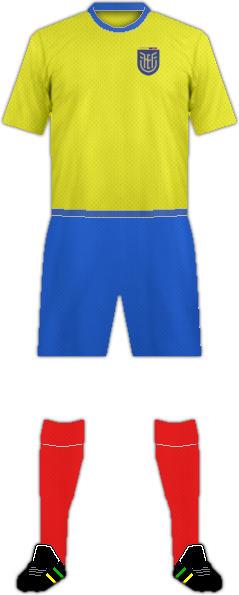 Kit ECUADOR NATIONAL FOOTBALL TEAM