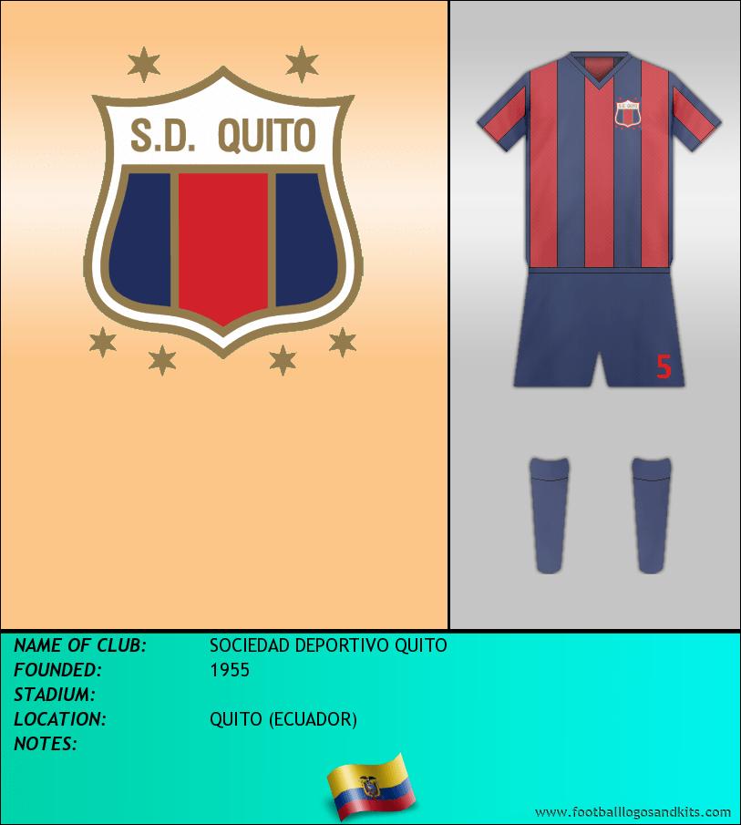 Logo of SOCIEDAD DEPORTIVO QUITO