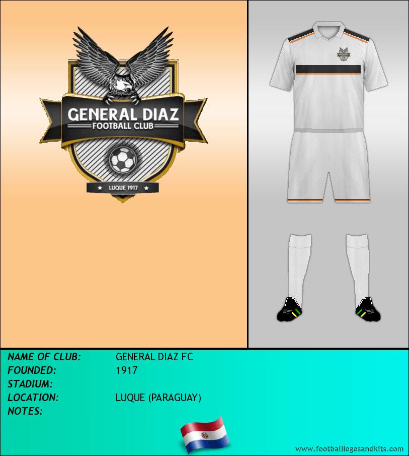 Logo of GENERAL DIAZ FC