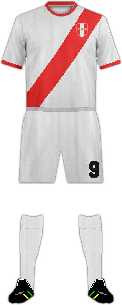 Kit PERU NATIONAL FOOTBALL TEAM