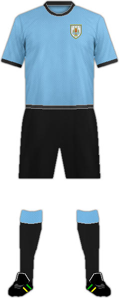 Kit URUGUAY NATIONAL FOOTBALL TEAM