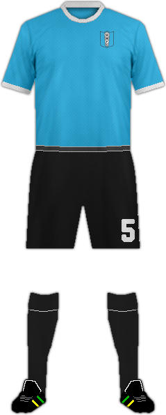Kit URUGUAY MONTEVIDEO F.C.
