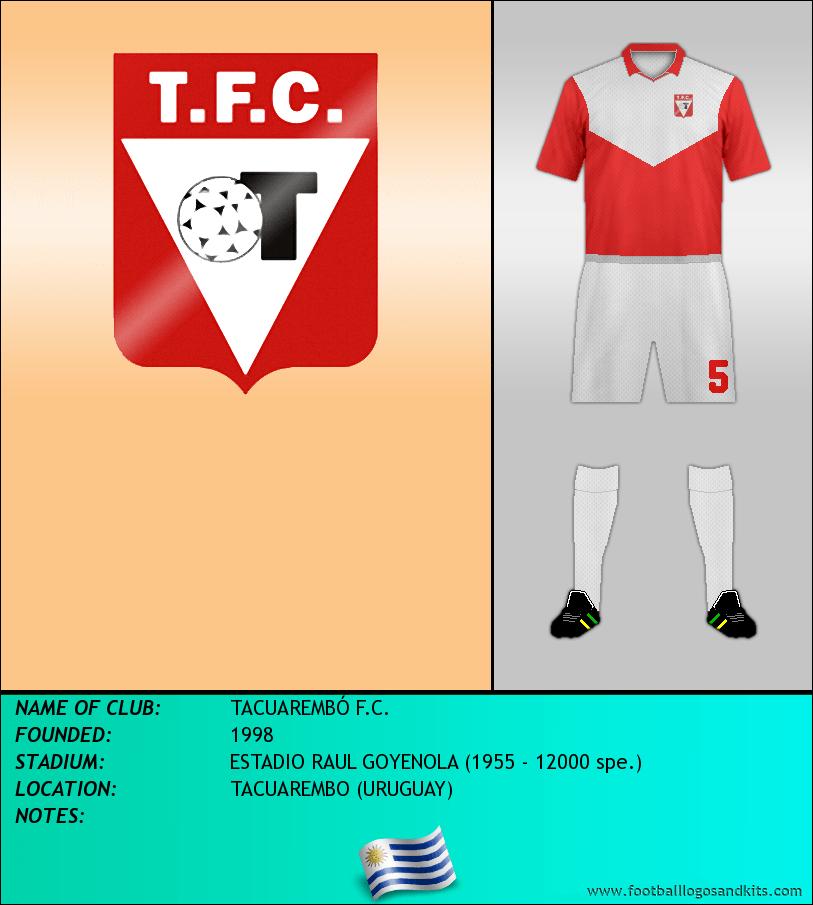 Logo of TACUAREMBÓ F.C.
