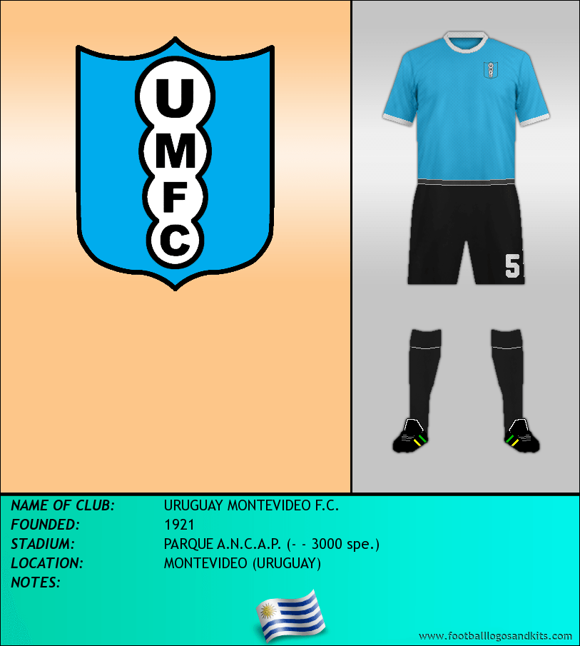 Logo of URUGUAY MONTEVIDEO F.C.