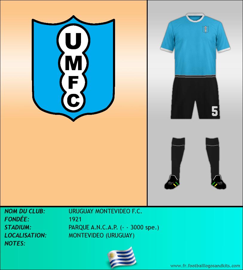 Logo de URUGUAY MONTEVIDEO F.C.