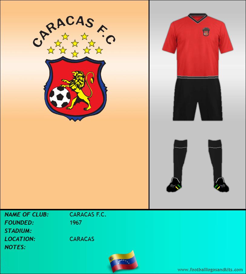 Logo of CARACAS F.C.