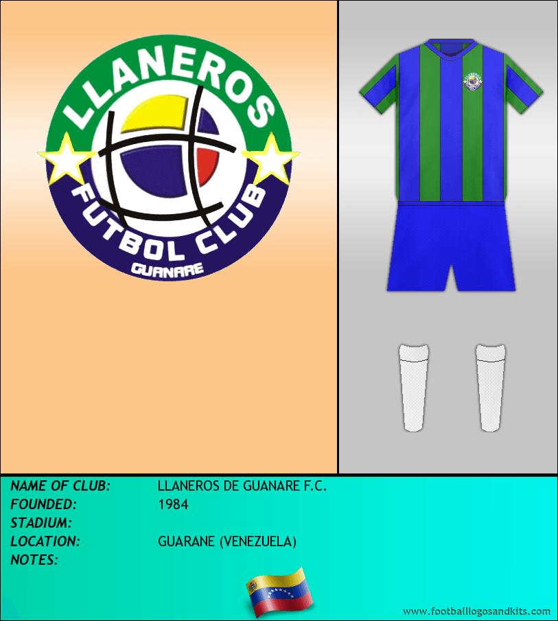 Logo of LLANEROS DE GUANARE F.C.