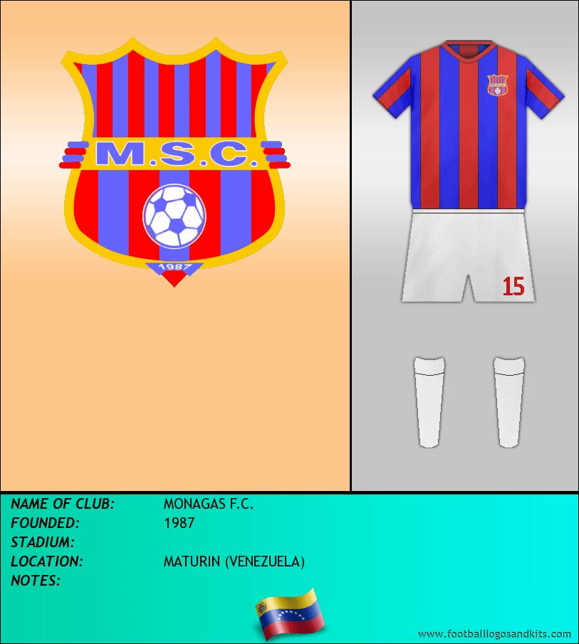 Logo of MONAGAS F.C.