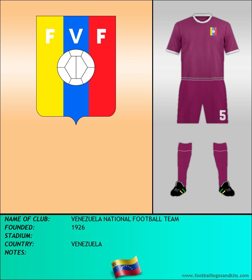 Logo of VENEZUELA NATIONAL FOOTBALL TEAM