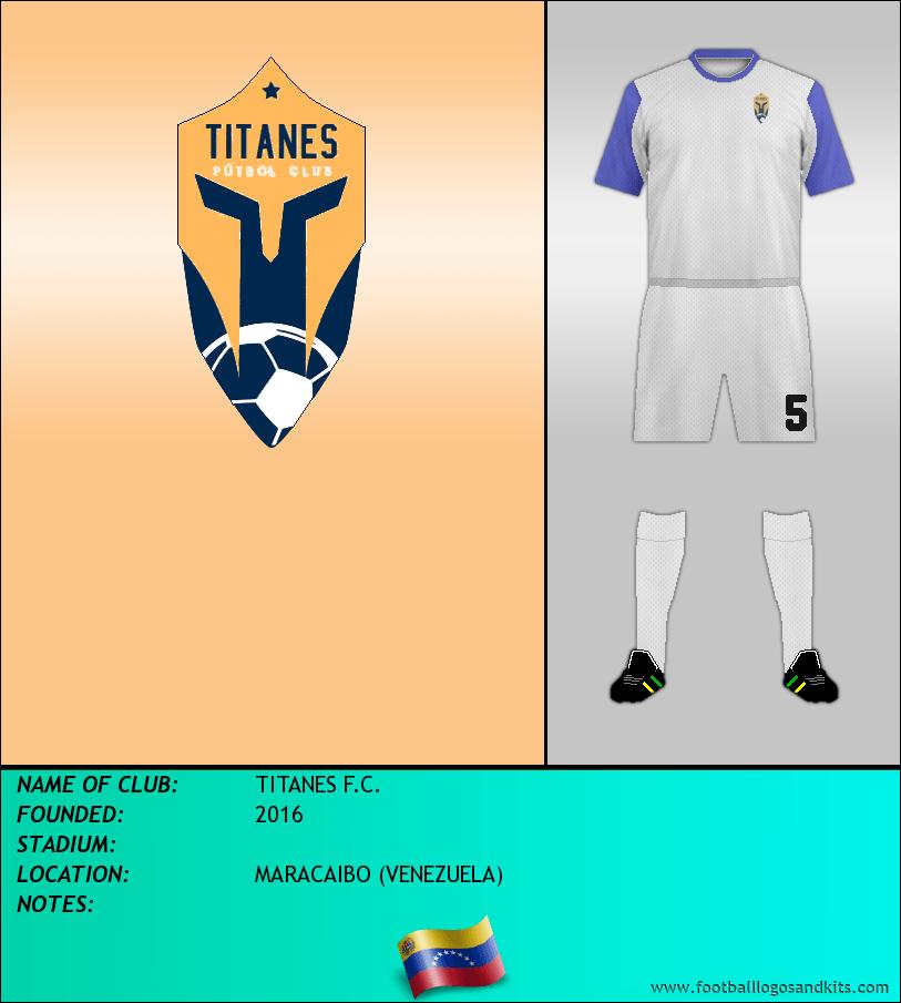 Logo of TITANES F.C.