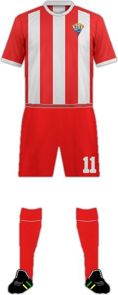 Kit ROQUETAS C.F. 2016