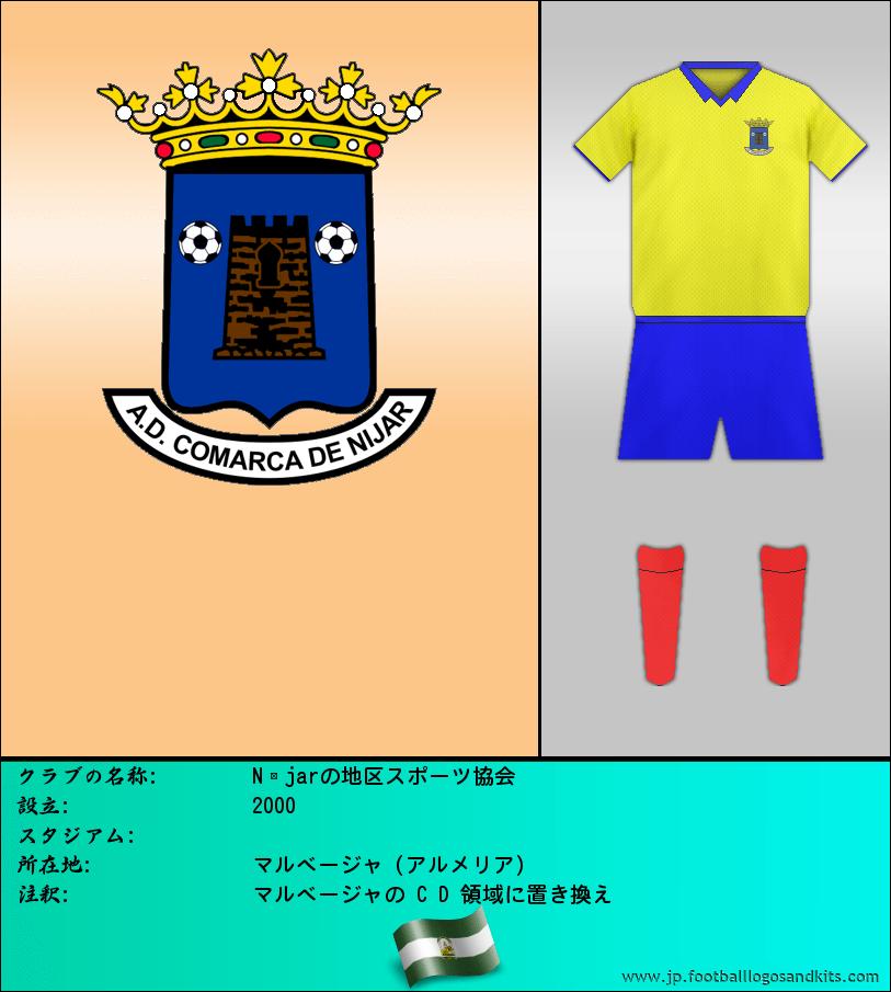 のロゴNíjarの地区スポーツ協会