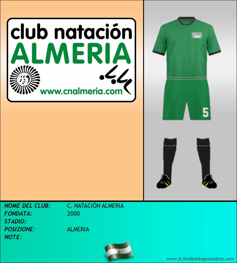 Logo di C. NATACIÓN ALMERIA