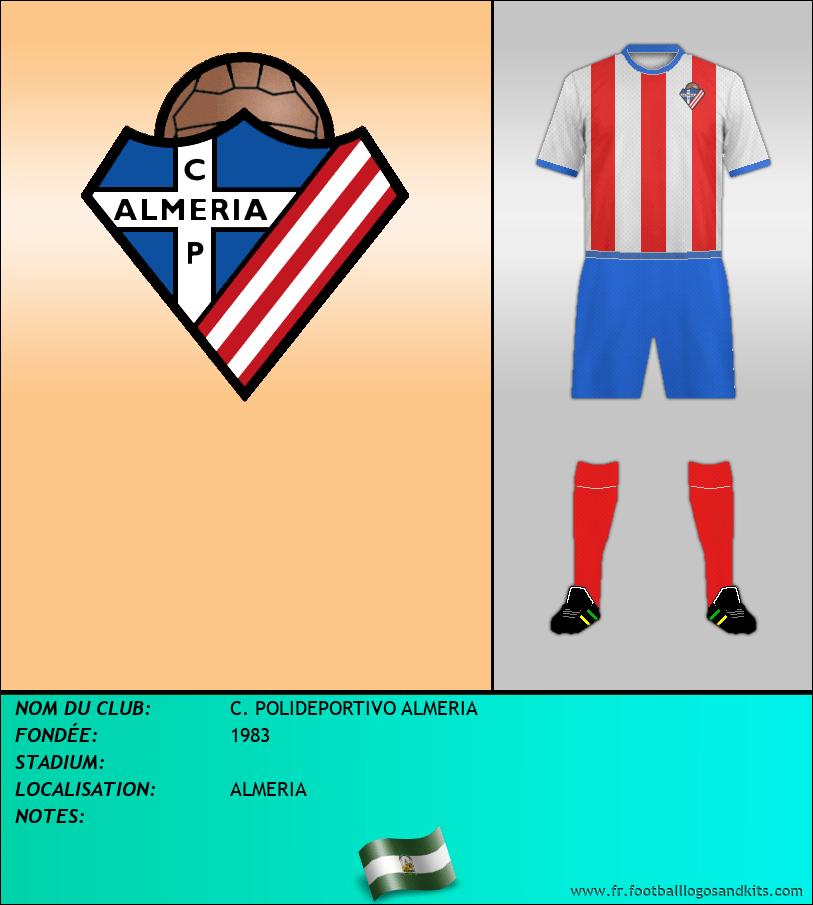 Logo de C. POLIDEPORTIVO ALMERIA