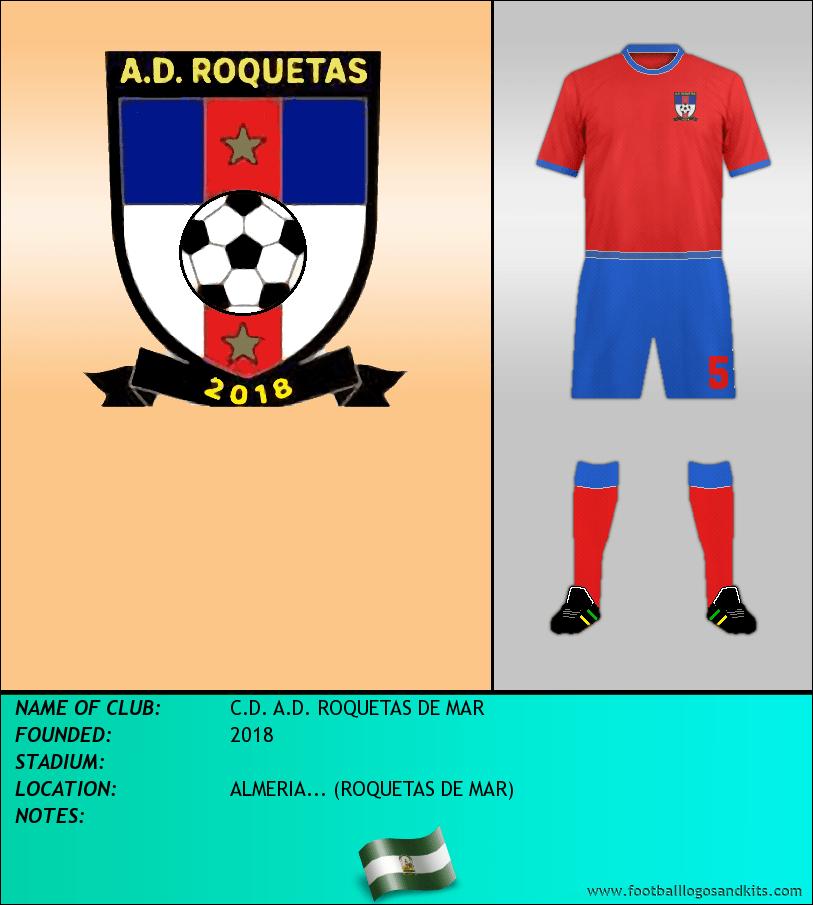 Logo of C.D. A.D. ROQUETAS DE MAR