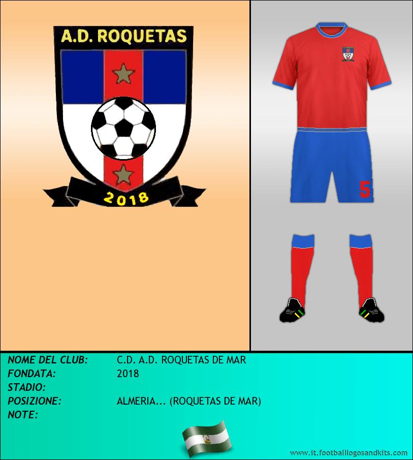 Logo di C.D. A.D. ROQUETAS DE MAR