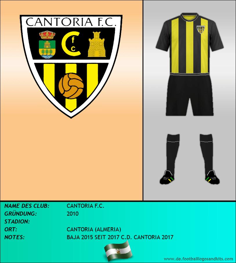 Logo CANTORIA F.C.